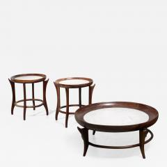 Giuseppe Scapinelli Giuseppe Scapinelli set of three tables Brazil - 1475273