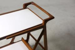Giuseppe Scapinelli Mid Century Modern Cavi na Tea Cart by Giuseppe Scapinelli Brazil 1950s - 1398039