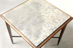 Giuseppe Scapinelli Mid Century Modern Marble Top Side Table by Giuseppe Scapinelli Brazil 1950s - 1463182
