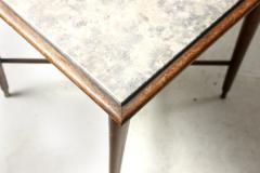 Giuseppe Scapinelli Mid Century Modern Marble Top Side Table by Giuseppe Scapinelli Brazil 1950s - 1463183