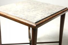 Giuseppe Scapinelli Mid Century Modern Marble Top Side Table by Giuseppe Scapinelli Brazil 1950s - 1463184