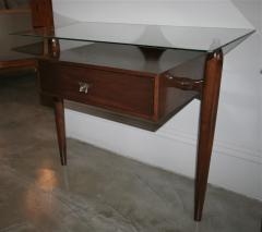 Giuseppe Scapinelli Pair of 1960s Nightstands by Giuseppe Scapinelli - 461629