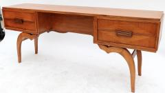 Giuseppe Scapinelli Scapinelli 1960s Brazilian Caviuna Console Table Desk - 497419