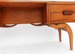 Giuseppe Scapinelli Scapinelli 1960s Brazilian Caviuna Console Table Desk - 497432