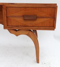 Giuseppe Scapinelli Scapinelli 1960s Brazilian Caviuna Console Table Desk - 497434
