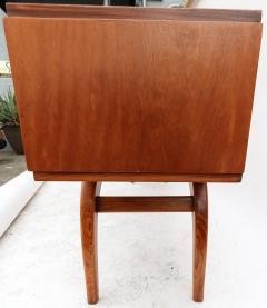 Giuseppe Scapinelli Scapinelli 1960s Brazilian Caviuna Console Table Desk - 497436