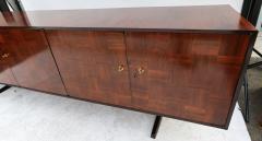 Giuseppe Scapinelli Scapinelli 1960s Brazilian Jacaranda Parquet Sideboard - 497424