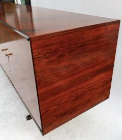 Giuseppe Scapinelli Scapinelli 1960s Brazilian Jacaranda Parquet Sideboard - 497425