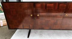 Giuseppe Scapinelli Scapinelli 1960s Brazilian Jacaranda Parquet Sideboard - 497428