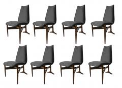 Giuseppe Scapinelli Set of Eight Modern Chairs - 1025506