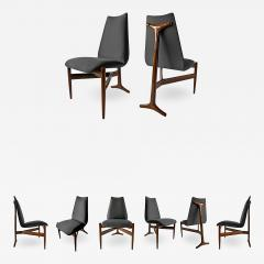 Giuseppe Scapinelli Set of Eight Modern Chairs - 1090950
