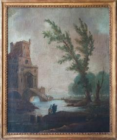 Giuseppe Zais ITALIAN LANDSCAPE IN THE MANNER OF GIUSEPPE ZAIS Circa 1790 - 692533