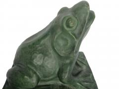 Gladding McBean Pair Pottery Frogs - 502060