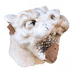 Glazed Terracotta Barking Dog - 1466773