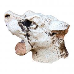 Glazed Terracotta Barking Dog - 1466774
