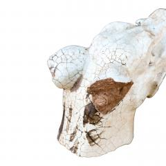 Glazed Terracotta Barking Dog - 1466775