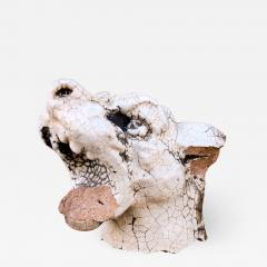 Glazed Terracotta Barking Dog - 1532410