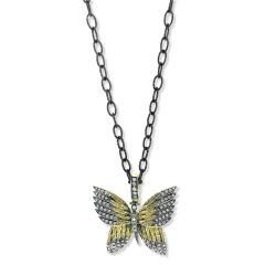 Glenn Bradford Fine Jewelry 18kt Green Gold Butterfly Charm 1 - 1099724