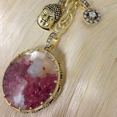 Glenn Bradford Fine Jewelry Buddha Diamond Dust Charm - 1099619