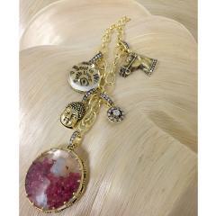Glenn Bradford Fine Jewelry Buddha Diamond Dust Charm - 1099620