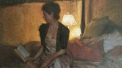 Glenn Harrington Lady Reading - 1255703