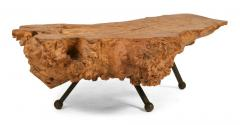 Gnarly Mexican Sabino Burl Slab Cocktail Table - 775424