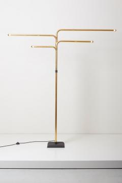 Goffredo Reggiani Adjustable Floor Lamp by Goffredo Reggiani in Brass Italy 1970s - 1033900