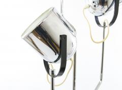 Goffredo Reggiani Chromed Reggiani floor lamp with four spotlights circa 1970 - 696351