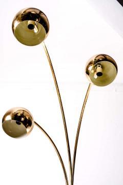 Goffredo Reggiani Goffredo Reggiani Brass Globe Floor Lamp Italy circa 1970 - 1445385