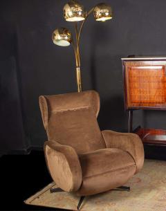 Goffredo Reggiani Goffredo Reggiani Brass Globe Floor Lamp Italy circa 1970 - 1445390