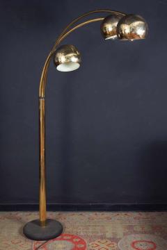 Goffredo Reggiani Goffredo Reggiani Brass Globe Floor Lamp Italy circa 1970 - 1445391