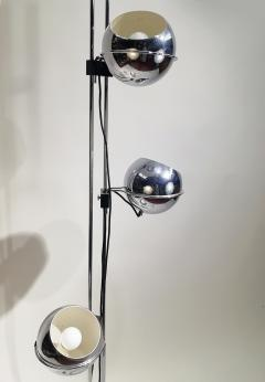 Goffredo Reggiani Goffredo Reggiani Eyeball Triple Light Floor Lamp circa 1970 - 1876316