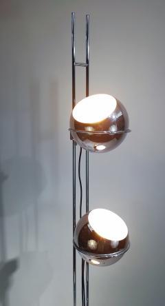 Goffredo Reggiani Goffredo Reggiani Eyeball Triple Light Floor Lamp circa 1970 - 1876322