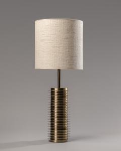 Goffredo Reggiani Goffredo Reggiani Table Lamp In Brass And Aluminium Italy 1970s  - 1903496