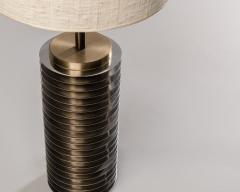 Goffredo Reggiani Goffredo Reggiani Table Lamp In Brass And Aluminium Italy 1970s  - 1903497