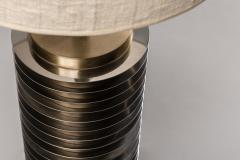 Goffredo Reggiani Goffredo Reggiani Table Lamp In Brass And Aluminium Italy 1970s  - 1903498