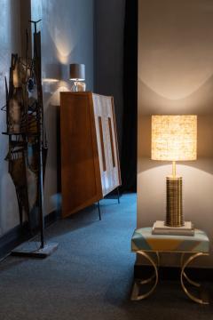 Goffredo Reggiani Goffredo Reggiani Table Lamp In Brass And Aluminium Italy 1970s  - 1903499