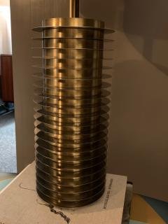 Goffredo Reggiani Goffredo Reggiani Table Lamp In Brass And Aluminium Italy 1970s  - 1903500