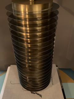 Goffredo Reggiani Goffredo Reggiani Table Lamp In Brass And Aluminium Italy 1970s  - 1903501