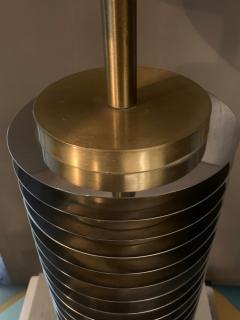 Goffredo Reggiani Goffredo Reggiani Table Lamp In Brass And Aluminium Italy 1970s  - 1903502