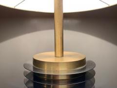 Goffredo Reggiani Goffredo Reggiani Table Lamp In Brass And Aluminium Italy 1970s  - 1903504