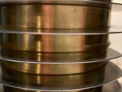 Goffredo Reggiani Goffredo Reggiani Table Lamp In Brass And Aluminium Italy 1970s  - 1903505