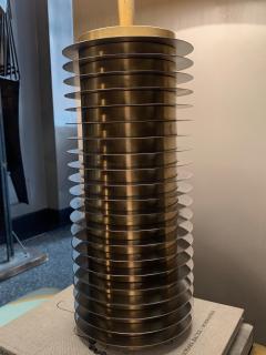 Goffredo Reggiani Goffredo Reggiani Table Lamp In Brass And Aluminium Italy 1970s  - 1903506