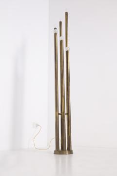 Goffredo Reggiani Rare Floor Lamp in Brass prod Goffredo Reggiani 1960s - 2077217