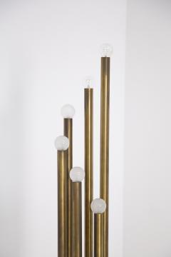 Goffredo Reggiani Rare Floor Lamp in Brass prod Goffredo Reggiani 1960s - 2077218