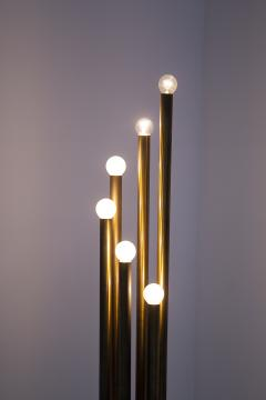 Goffredo Reggiani Rare Floor Lamp in Brass prod Goffredo Reggiani 1960s - 2077221