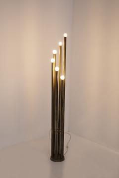 Goffredo Reggiani Rare Floor Lamp in Brass prod Goffredo Reggiani 1960s - 2077222