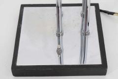Goffredo Reggiani Reggiani 4 Head Chrome and Black Floor Lamp - 1274980