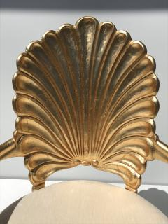 Gold Leafed Venetian Grotto Style Shell Armchairs - 567110