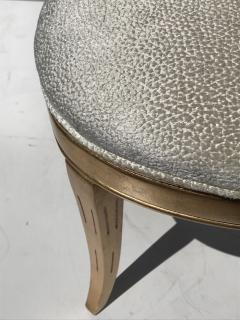 Gold Leafed Venetian Grotto Style Shell Side Chairs - 567096